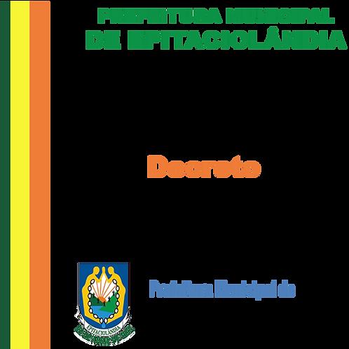 Decreto N° 001/2020 - IVAM FERREIRA LIMA