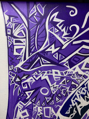 Come see the finished piece on 7-28.