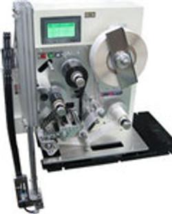 印字機能付き自動ラベル貼付け機