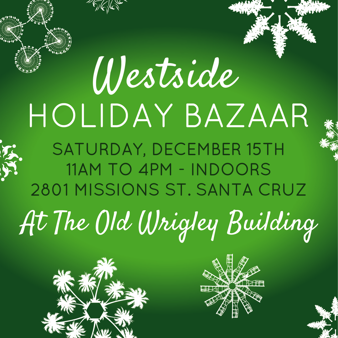 Westside Holiday Bazaar Instragram promo.