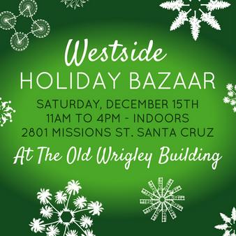 Westside Holiday Bazaar Instragram promo.