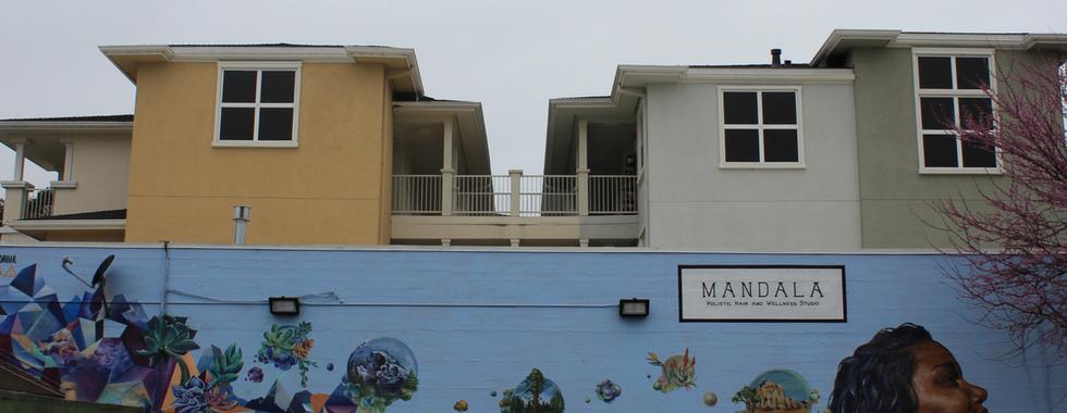 Mandala Holistic Hair Studio Mural, Santa Cruz, CA