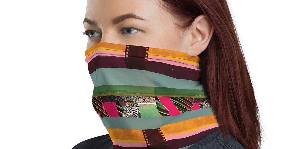 Leigh Erickson Face Mask - Dark Rainbow