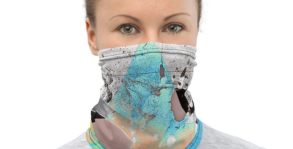Blot Girl Face Mask - Triangles