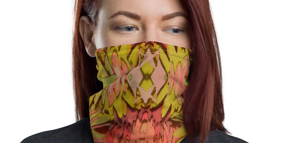 Danielle Peters Face Mask - Ocre