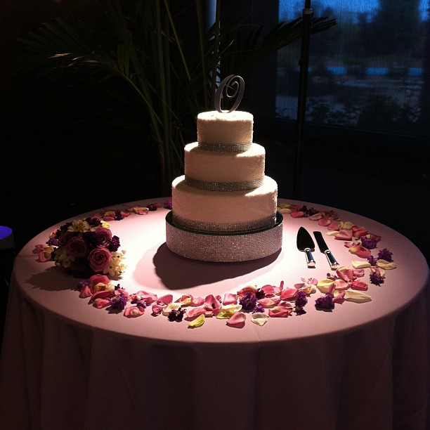 Crystal Wedding Cake