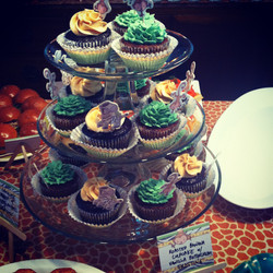 Safari Design Cupcakes