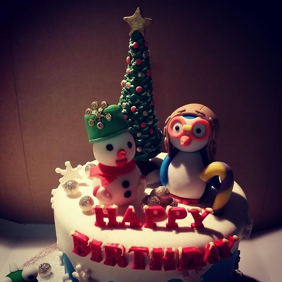 Winter Wonderland Cake Toppers