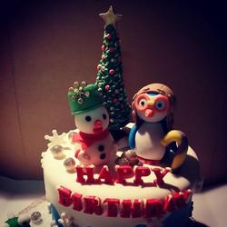 Winter Wonderland Cake Toppers