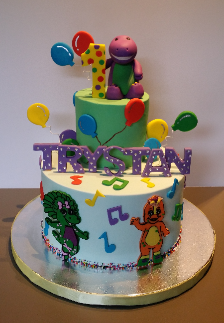 Custom Characters Cake