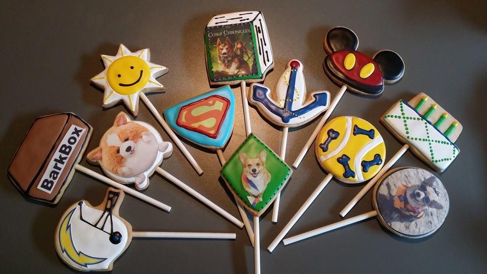 Super Corgi Cookies