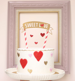 Sweet Love Celebration Cake