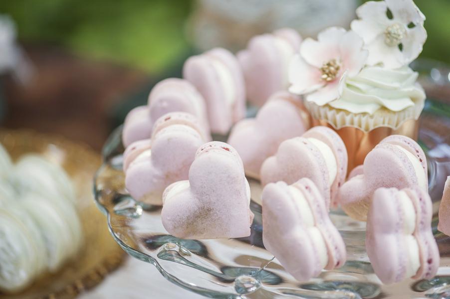 Heart Shape Macarons