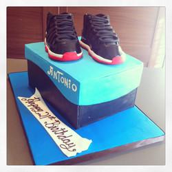Custom Shoe-box Cake