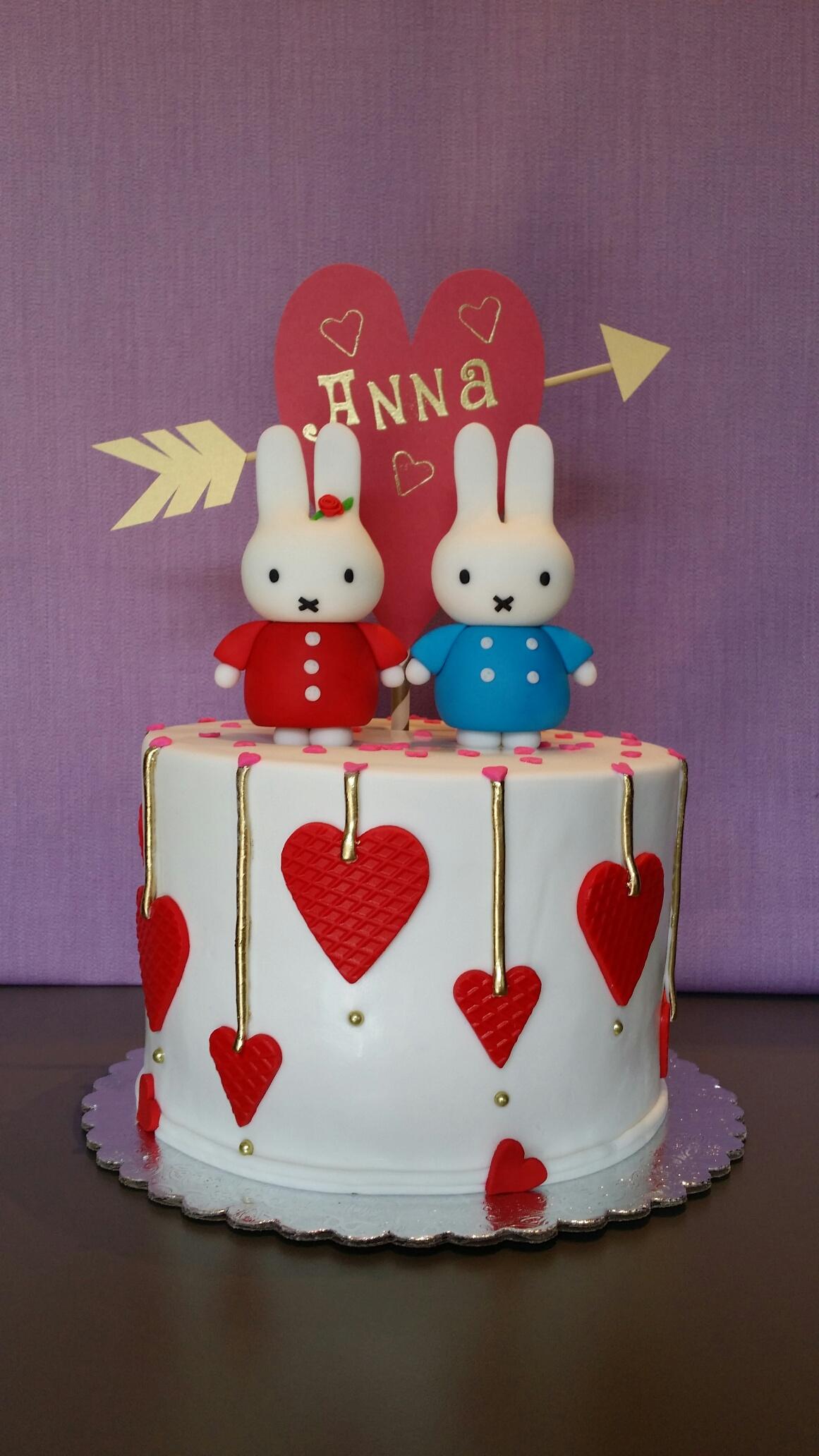 Valentines Day Celebration Cake
