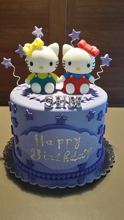 Custom Characters Birthday Cake