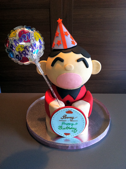 3D Character Cake