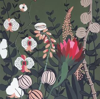 Botanical Jungle  (Commission project)