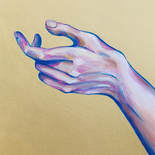 Gold Hand  -  AT EXHIBITION
