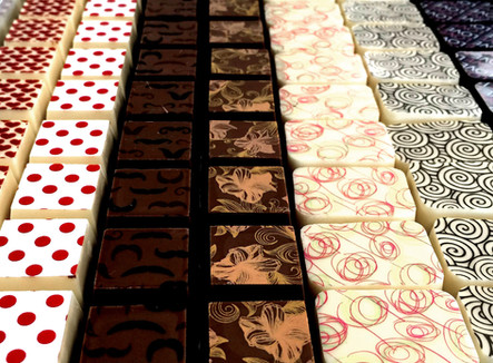 chocoladepralines