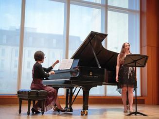 Source Song Festival, 2014  with mezzo-soprano Christina Christensen
