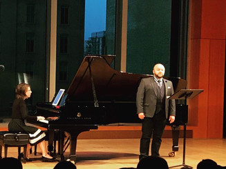 Source Song Festival composre concert with tenor Jacob Christopher