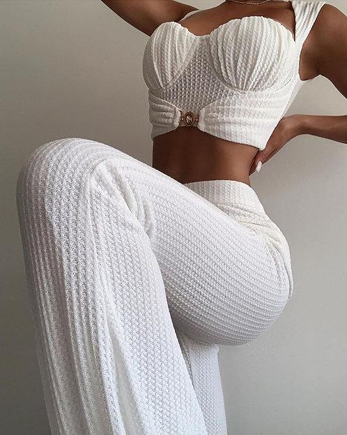Женские брюки и топ