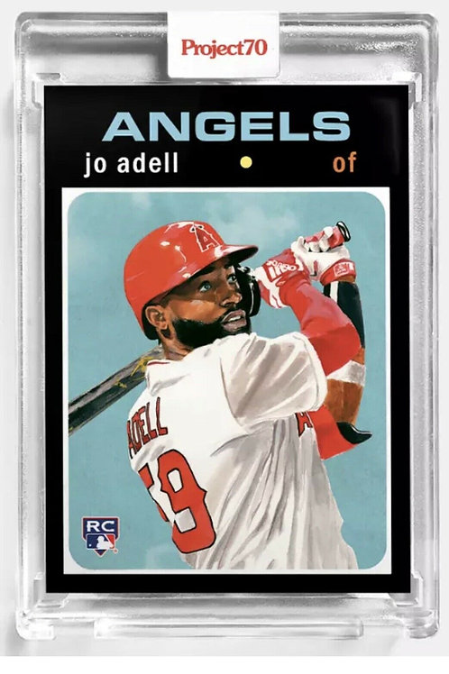Topps Project70® Card 32 - 1971 Jo Adell by Jacob Rochester - Print Run: 5422
