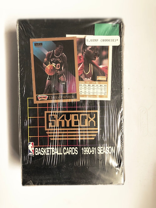 Skybox 1990-91 NBA basketball cardbox