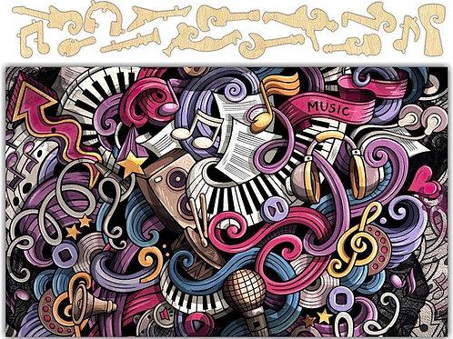 Music Always on My Mind Jigsaw Puzzle #6739