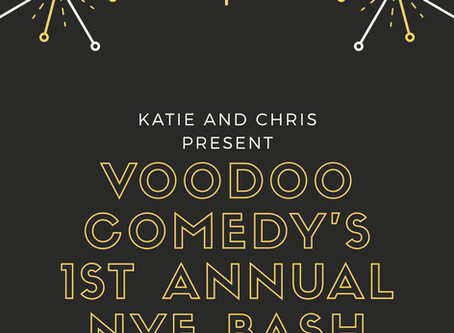 Help Us Celebrate 2020 at Voodoo Comedy!