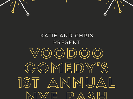 Help Us Celebrate 2020 at Voodoo Comedy!