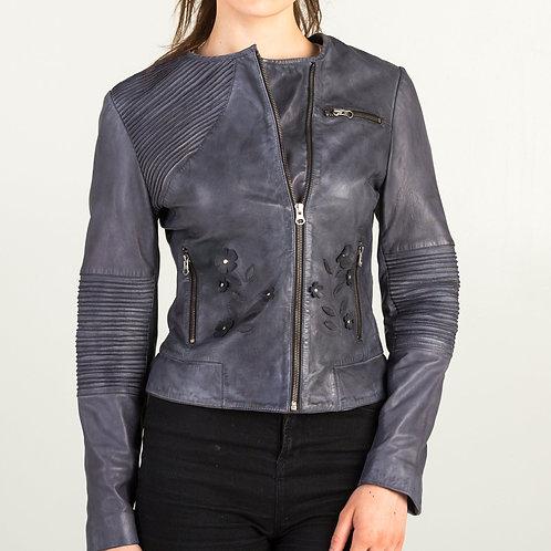 Dull Black Leather Jacket