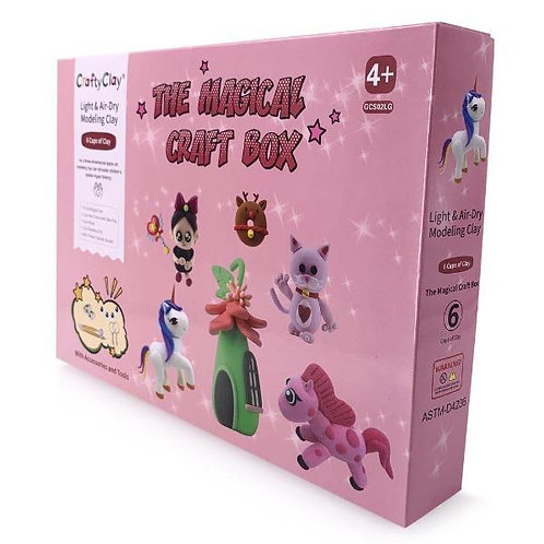 """The """"MAGIC EDITION"""" Air Dry Modeling Clay Set for Kids [25% OFF]"""