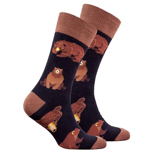 Men's Big Bear Socks