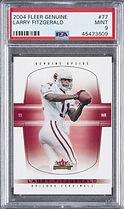 Larry Fitzgerald Graded Rookie Card PSA