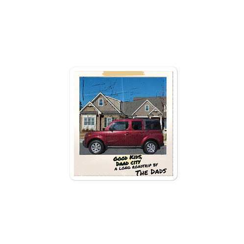 Good Kids Daad City Car Album Cover stickers