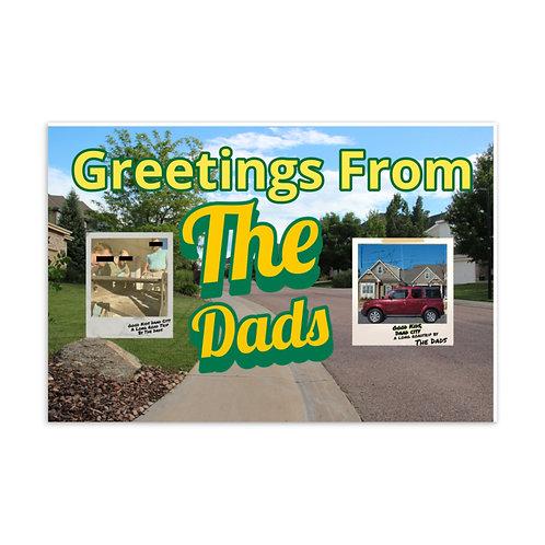 The Dads Standard Postcard