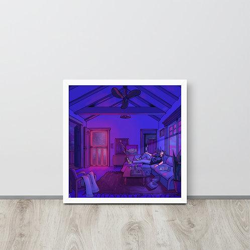 """IANxSOLO """"Screen Door"""" Framed poster"""