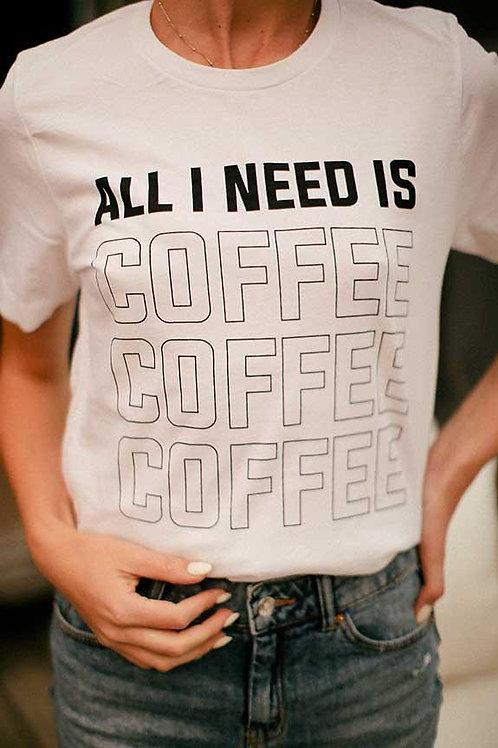 | Need Coffee Graphic Tee