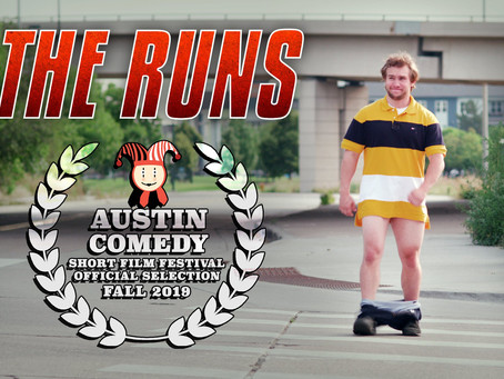 BEST ACTOR NOMINATION Austin Comedy Short Film Festival Fall 2019