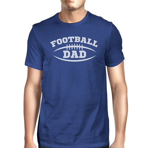 Football Dad  Graphic T-Shirt for Father's Day