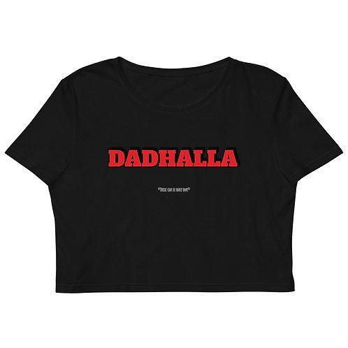 THE DAD's Dadhalla Organic Crop Top (No Album Cover)