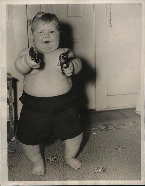 John Wayne as a Baby