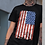 "Thumbnail: Men's Soft Ringspun Cotton ""American Flag"" Tee"