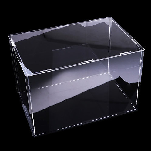 32x25x25cm Clear Acrylic Display Case Show Box for Action Figures Doll Model