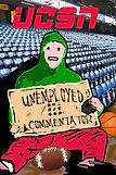 Unemployed commentators_Podcast logo_UCS