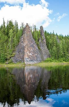 Татарские скалы на Илыче