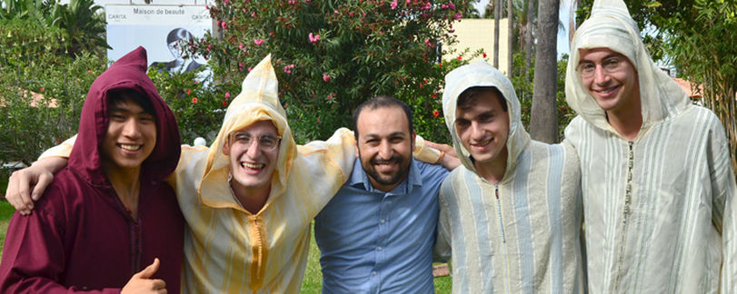 Arabic students at Qalam wa Lawh