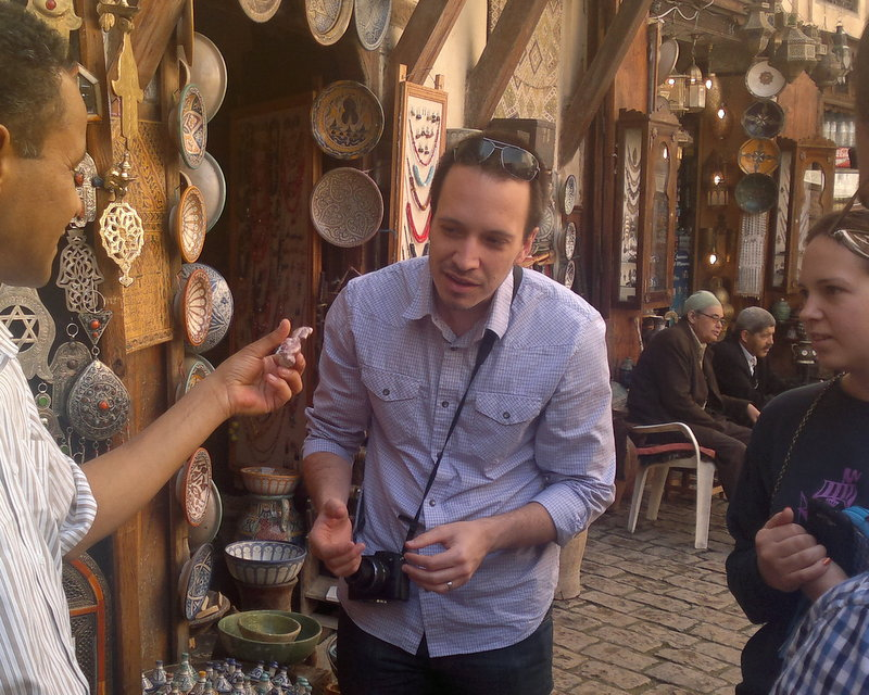 Bartering, Fez Morocco
